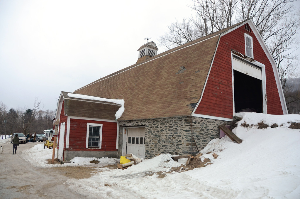 Description of . Cricket Creek Farm in Williamstown is hoping to be able to renovate the new Stone Barn into a community event space to be used by local residents and visitors. Gillian Jones/Berkshire Eagle Staff
