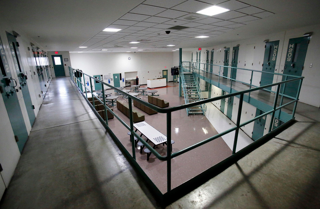 Description of . The H-Pod cell block has been fitted with all LED lighting in the day room and the cells will also be switched to LEDs at the Berkshire County House of Correction. The facility has received a large grant for energy improvement, including a photo voltaic field, a solar thermal array, and LED lighting. Thursday, August 14, 2014. Stephanie Zollshan / Berkshire Eagle Staff / photos.berkshireeagle.com