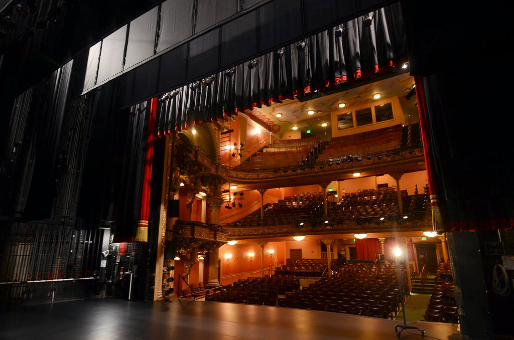Description of . The Colonial Theatre, Tuesday January 21, 2014.  Photo by Ben Garver / Berkshire Eagle Staff