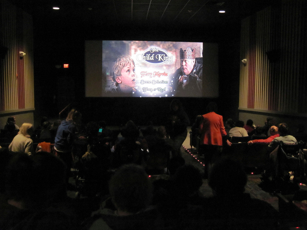 Description of . United Cerebral Palsy of Berkshire County held a family film screening of the holiday film