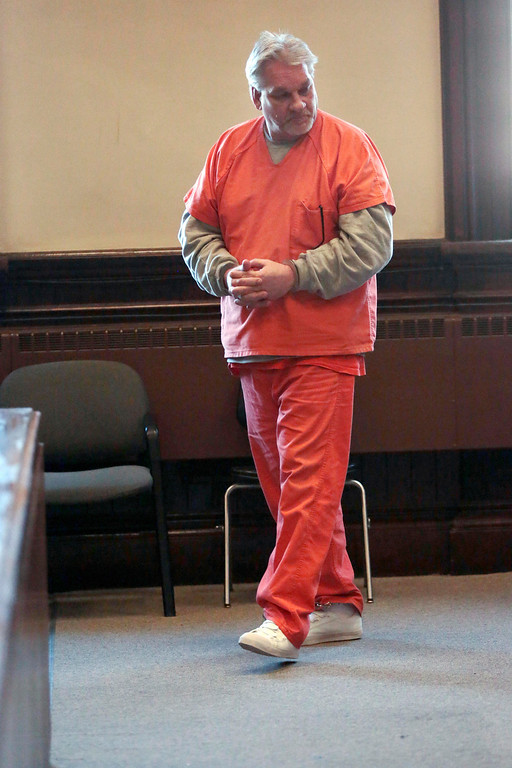 Description of . Stuart Zebrowski pleads guilty to multiple counts of arson, breaking and entering, and larceny at Superior Court in Pittsfield on Monday, November 18, 2013. (Stephanie Zollshan | Berkshire Eagle Staff)