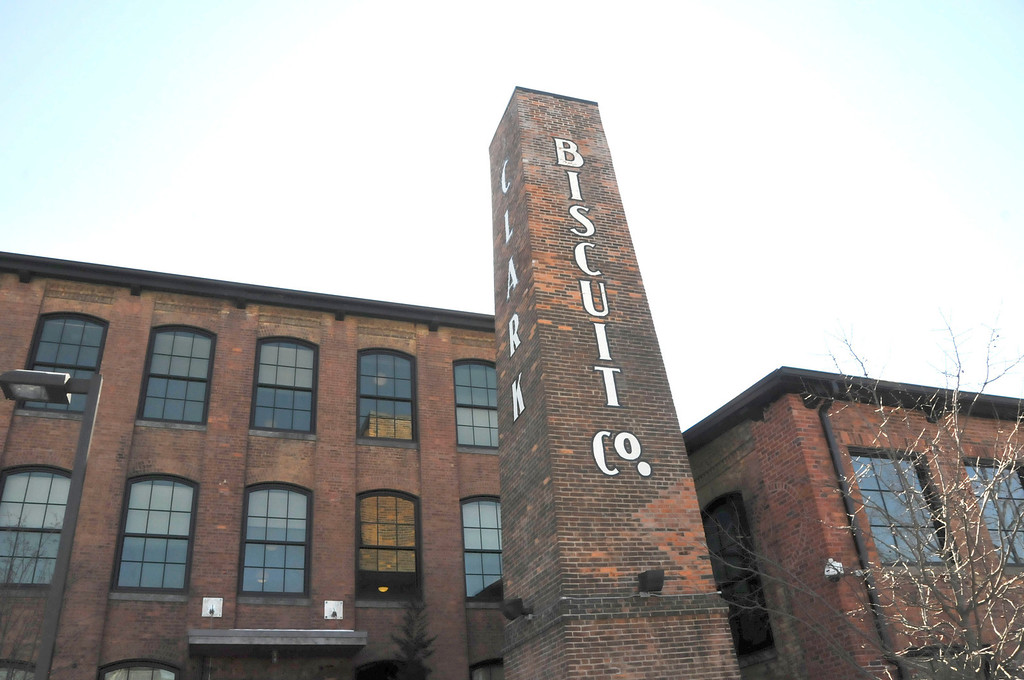 Description of . The former Clark BIscuit Co. mill in North Adams is now more than 40 units of affordable housing. Thursday, March 6, 2014 (Scott Stafford/Berkshire Eagle Staff)