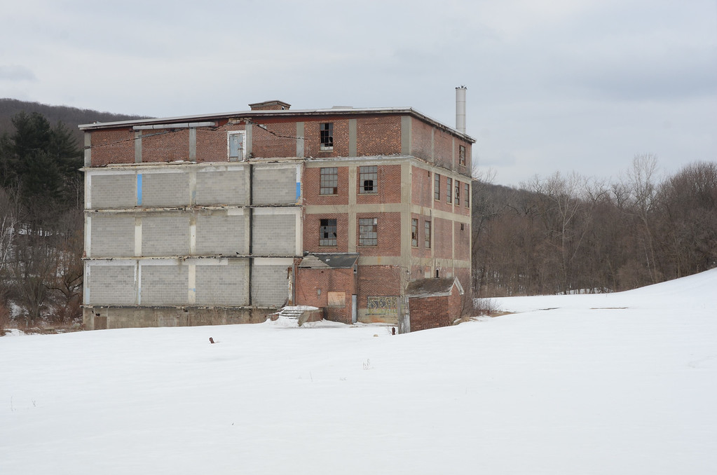 Description of . What remains of the old Photech Mill on Cole Avenue in Williamstown. Gillian Jones / Berkshire Eagle Staff / photos.berkshireeagle.com