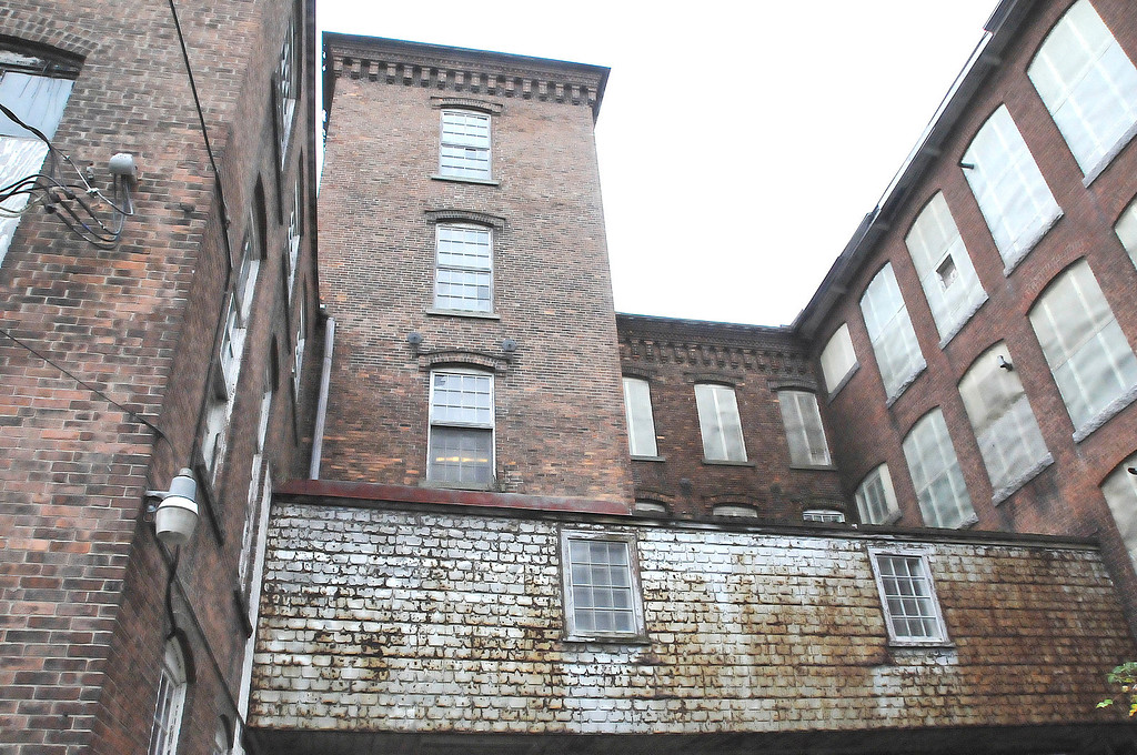 Description of . The former Greylock Mill on State Street has been put up for sale by the Cariddi family, which has owned the 270,000 square foot mill since 1976. Thursday, Oct. 10, 2013 (Scott Stafford/Berkshire Eagle Staff)