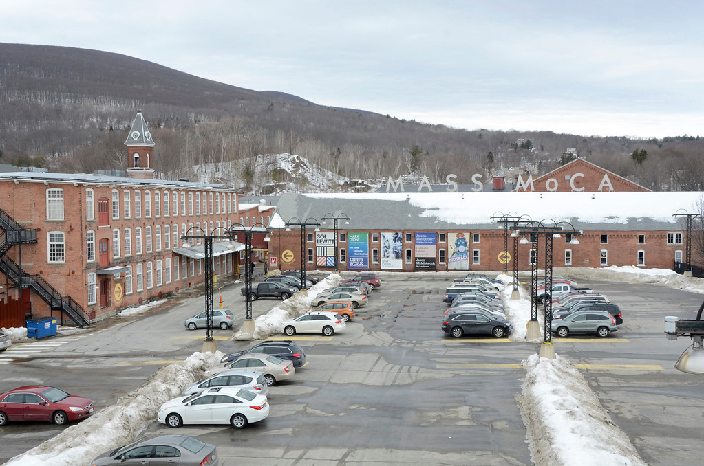 Description of . The Massachusetts Museum of Contemporary Art in North Adams is located in a former mill. Gillian Jones/Berkshire Eagle Staff