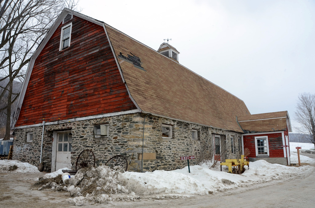 . Cricket Creek Farm in Williamstown is hoping to be able to renovate the new Stone Barn into a community event space to be used by local residents and visitors. Gillian Jones/Berkshire Eagle Staff