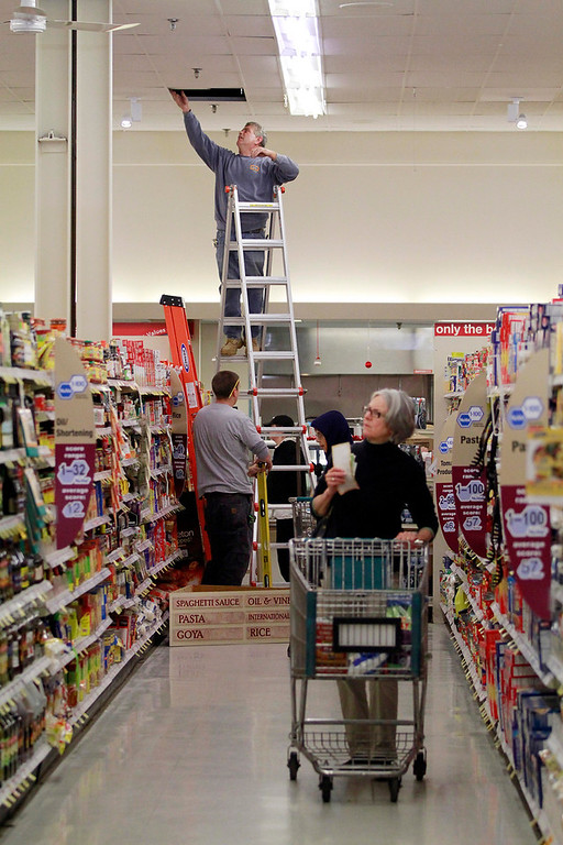 . There are many new features of the $1 million overhaul of the Big Y supermarket in North Adams. Big Y stores in Pittsfield, Adams, and North Adams have been undergoing major renovations. Monday, November 4, 2013. (Stephanie Zollshan | Berkshire Eagle Staff)