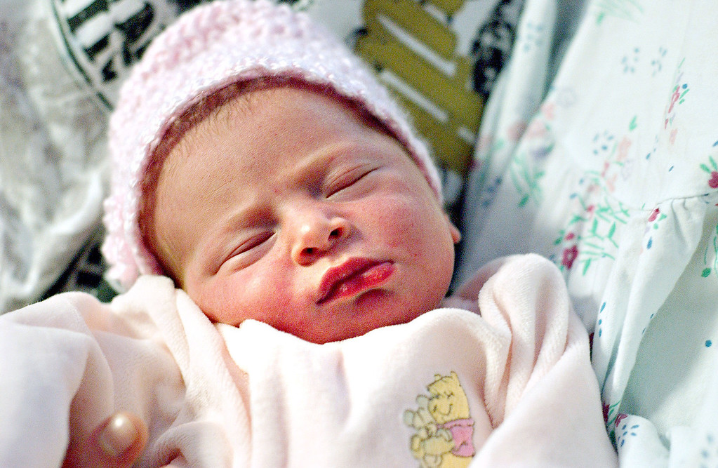 """. Octavia Julie-Ann Kastner was born at 10:46pm on January 1st at North Adams Regional Hospital to Kristina Giron and Paul Kastner of North Adams.  Octavia weighed in at 6lbs, 14ounces and was 19 1/2\"""" long.  Her due date was December 31st.  Sat Jan 2 2010 (Bonnivier Snyder)"""