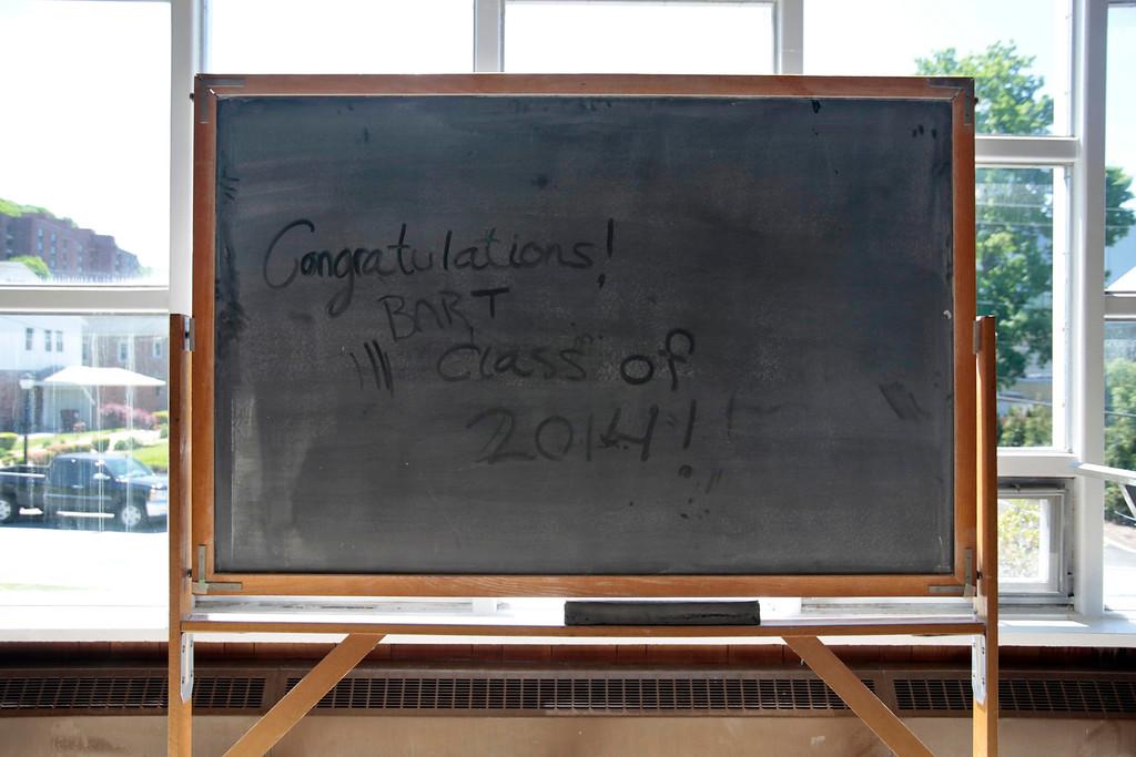 . The BART charter high school graduation at MCLA in North Adams. Saturday, June 7, 2014. Stephanie Zollshan / Berkshire Eagle Staff / photos.berkshireeagle.com
