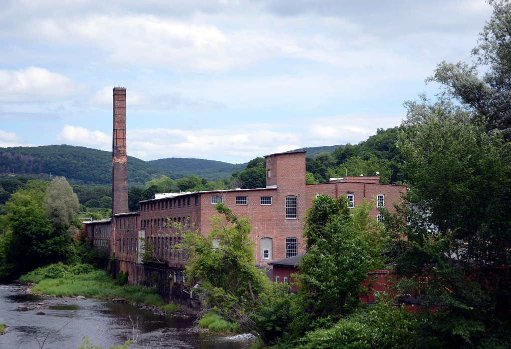 . The Eagle Mill in Lee is one of the mills considered in a grant to study reuse of the properties, Wednesday July 24, 2013.  Ben Garver / Berkshire Eagle Staff