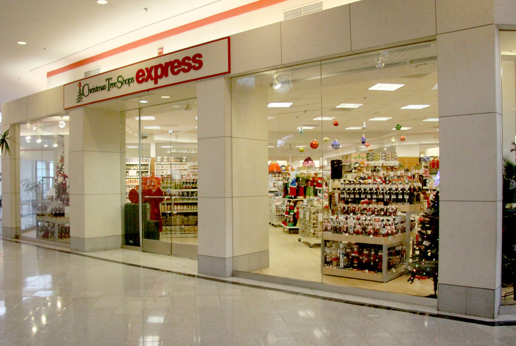 . The Christmas Tree Shops Express is one of many stores that will be opeing in the Berkshire Mall for the Holiday season. November 5th 2013 Holly Pelczynski/Berkshire Eagle Staff