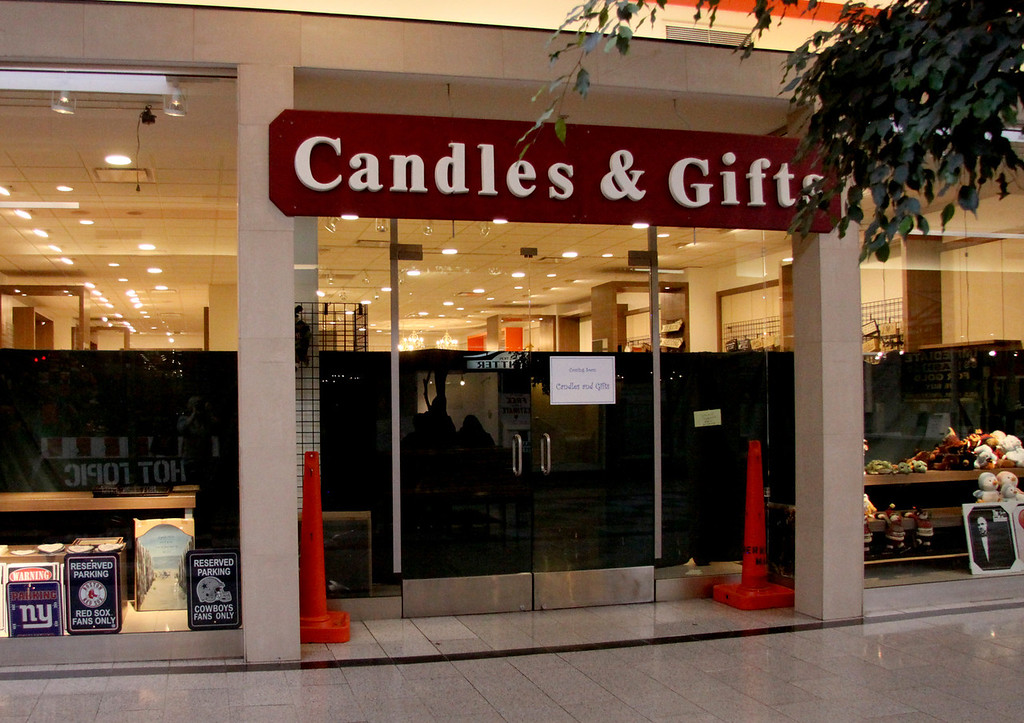 . Candles and Gifts is one of many stores that will be opening for the holiday season at the Berkshire Mall November 5th 2013 Holly Pelczynski/Berkshire Eagle Staff