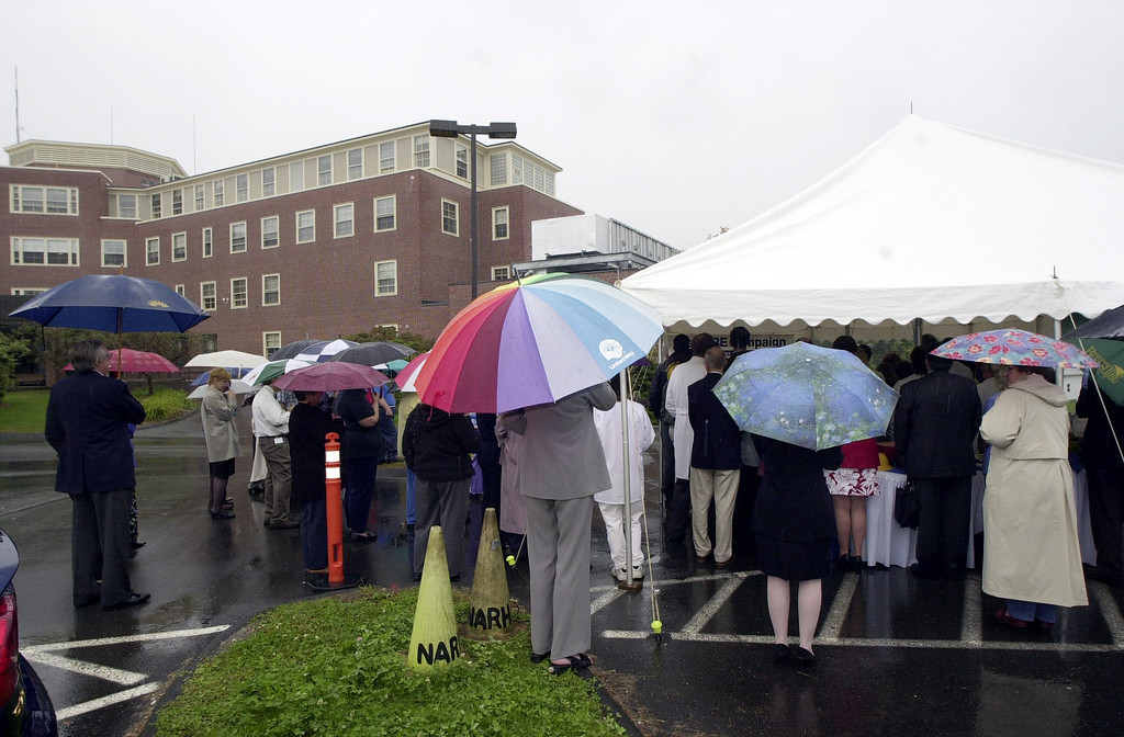 . September 28, 2005, North Adams Regional Hospital celebrates a 20 million dollar expansion. Photo by Joel Librizzi