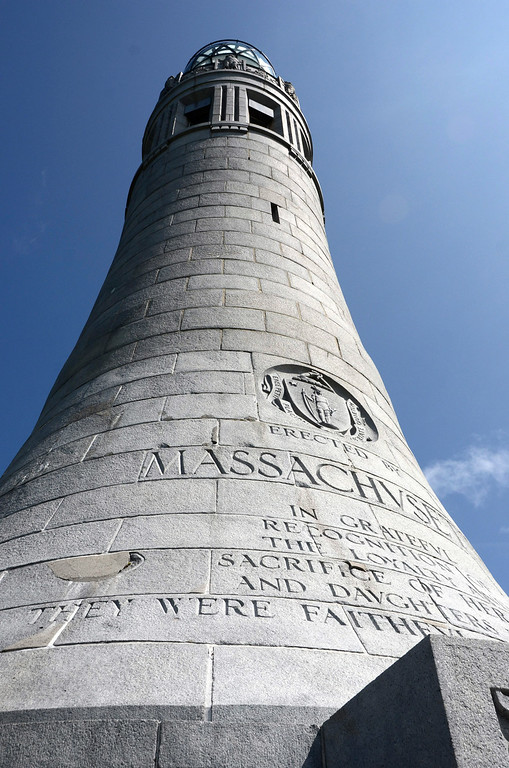 . The Massachusetts Veterans War Memorial Tower is closed due to unsafe conditions. Rehabilitation of the tower is expected through 2015 with a planned re-opening in 2016. The exterior of the tower shows wear and tear. Gillian Jones / Berkshire Eagle Staff / photos.berkshireeagle.com