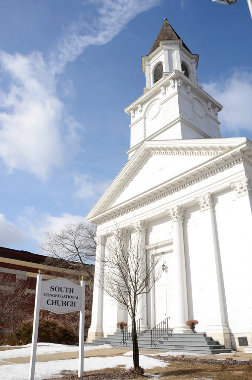 . The South Congregational Church in Pittsfield is celebrating the success of \'Stretching for God\'s Future,\' their church\'s capital campaign. Gillian Jones / Berkshire Eagle Staff / photos.berkshireeagle.com