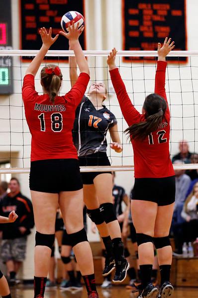 Lee vs. Mount Greylock W. Mass. Volleyball Semis-111215