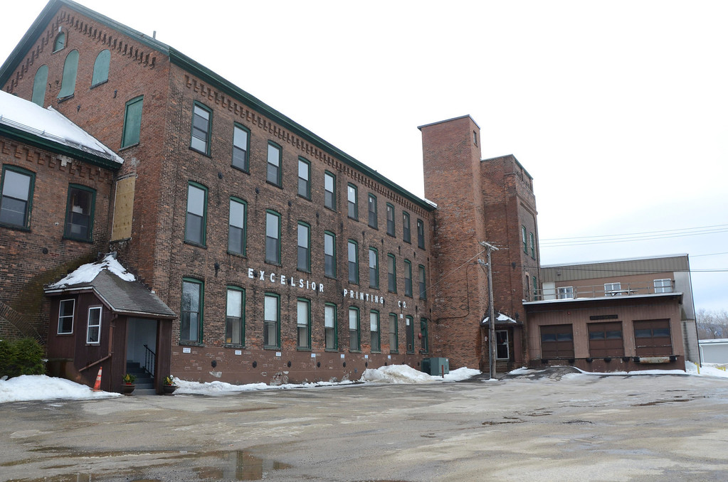 . The NORAD mill in North Adams. Gillian Jones/Berkshire Eagle Staff