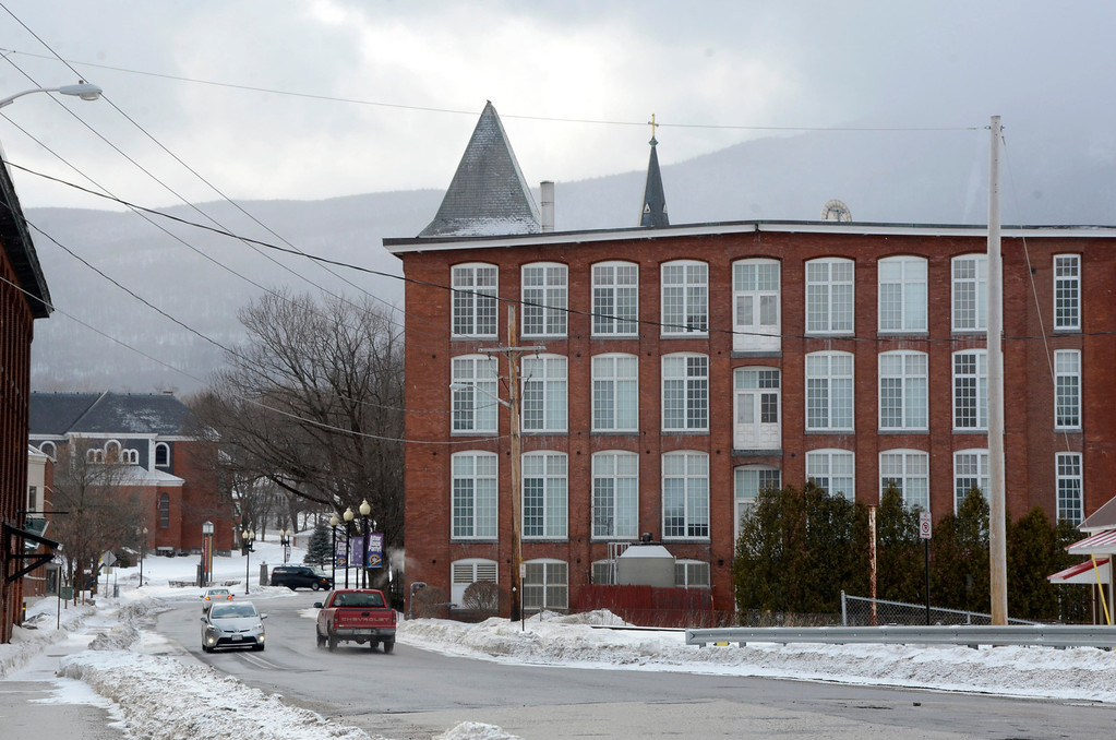 . The Berkshire Mill in Adams. Gillian Jones/Berkshire Eagle Staff