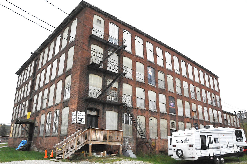 . The former Greylock Mill on State Street has been put up for sale by the Cariddi family, which has owned the 270,000 square foot mill since 1976. Thursday, Oct. 10, 2013 (Scott Stafford/Berkshire Eagle Staff)