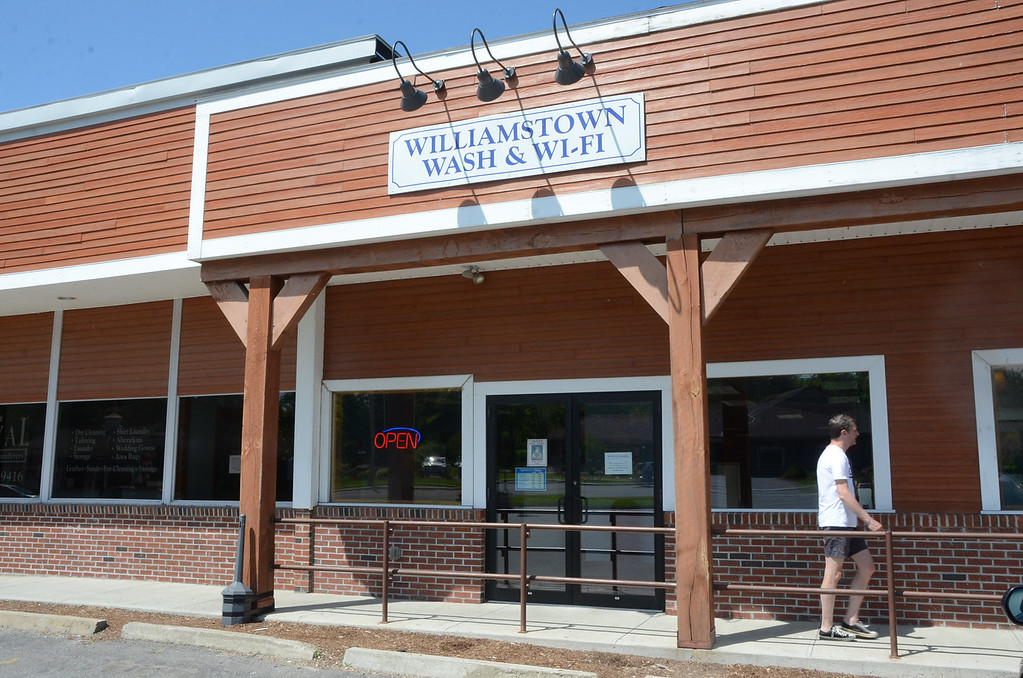 . with ED story Gillian Jones/North Adams Transcript Williamstown Wash and Wifi is closing Sunday.